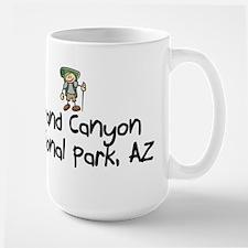 Hike Grand Canyon (Boy) Large Mug