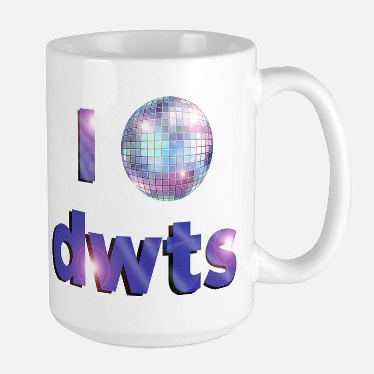 DWTS Dancing With The Stars Large Mug