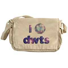 DWTS Dancing With The Stars Messenger Bag