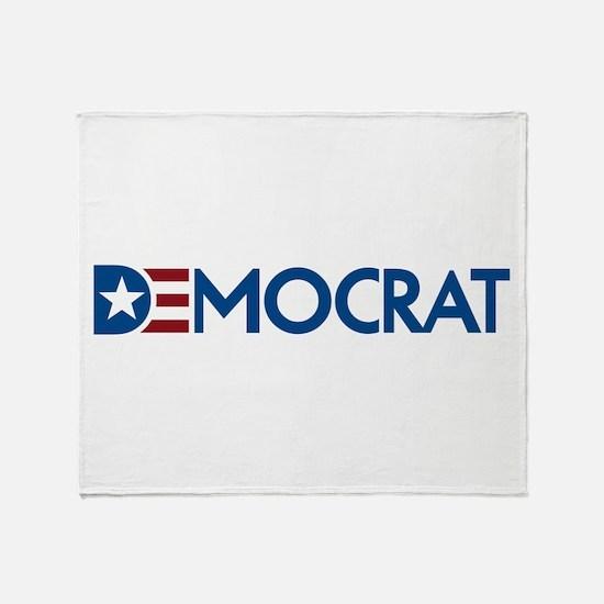Democrat Throw Blanket