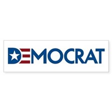 Democrat Car Sticker