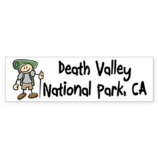 Hike Death Valley (Boy) Bumper Sticker