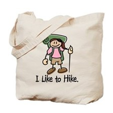 Hike Death Valley (Girl) Tote Bag