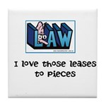 Lease Lawyer's Tile Coaster