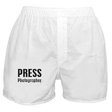 Press Photographer Boxer Shorts