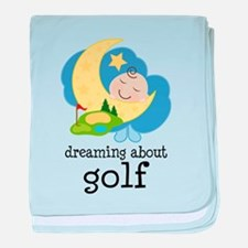Dreaming About Golf baby blanket