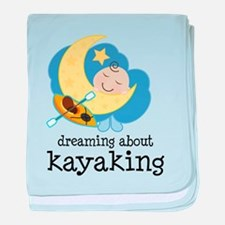 Dreaming About Kayaking baby blanket