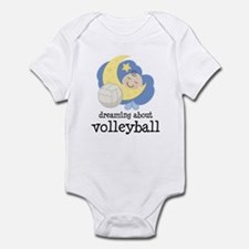 Dreaming About Volleyball Infant Bodysuit