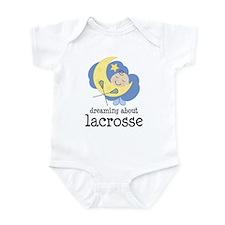 Dreaming About Lacrosse Infant Bodysuit
