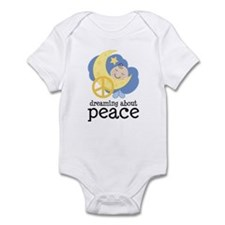 Dreaming About Peace Infant Bodysuit