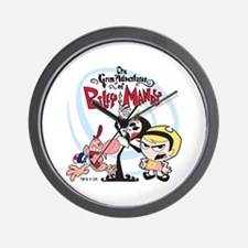 Grim Adventures of Billy and Mandy Wall Clock