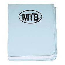MTB Oval baby blanket