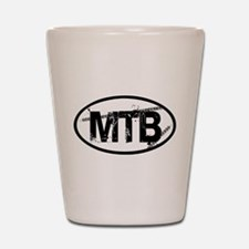 MTB Oval Shot Glass