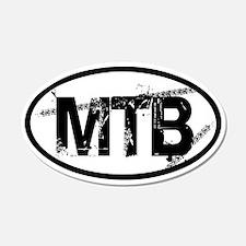 MTB Oval 22x14 Oval Wall Peel