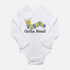 Bookworm Gotta Read Long Sleeve Infant Bodysuit