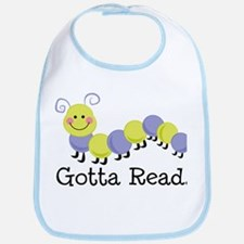 Bookworm Gotta Read Bib