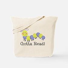 Bookworm Gotta Read Tote Bag
