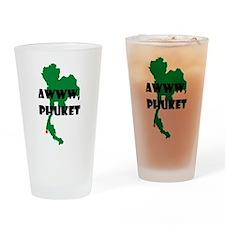 Awww Phuket Drinking Glass