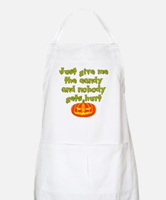 Give me the candy Apron