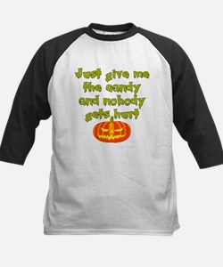 Give me the candy Kids Baseball Jersey