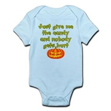 Give me the candy Infant Bodysuit