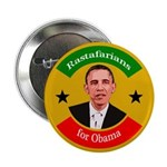 Rastafarians for Obama campaign button