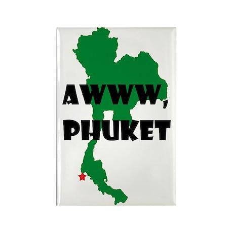 Awww Phuket Rectangle Magnet (10 pack)