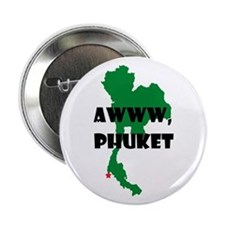 """Awww Phuket 2.25"""" Button"""