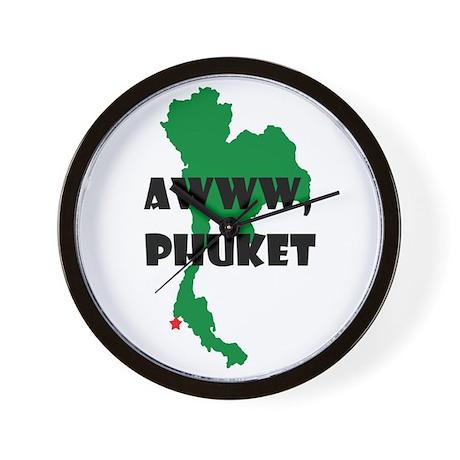 Awww Phuket Wall Clock