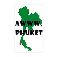 Awww Phuket Decal