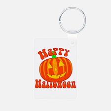 Happy Halloween Keychains