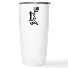 Retro Phone Stainless Steel Travel Mug