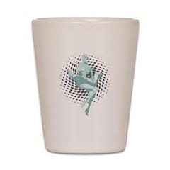Marilyn Robot Shot Glass