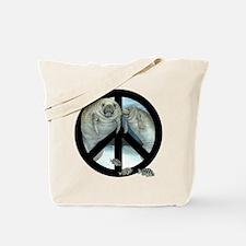 Cool Manatees Tote Bag