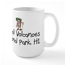 Hike Hawaii Volcanoes (Girl) Mug