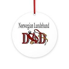 Norwegian Lundehund Ornament (Round)