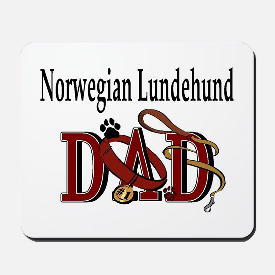 Norwegian Lundehund Mousepad