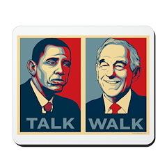 Walk the Talk Mousepad