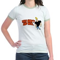 This Won't End Well Jr. Ringer T-Shirt