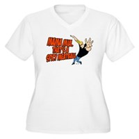 That's A Spicy Meatball Women's Plus Size V-Neck T