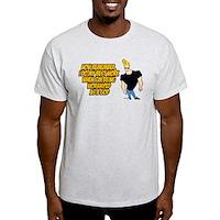 I Do My Best Work Being Worshipped Light T-Shirt