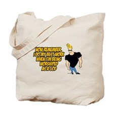 I Do My Best Work Being Worshipped Tote Bag
