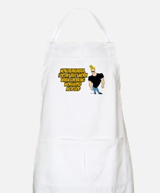 I Do My Best Work Being Worshipped Apron
