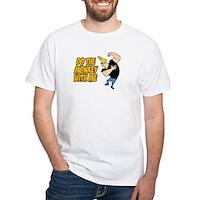 Do The Monkey White T-Shirt