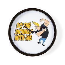 Do The Monkey Wall Clock