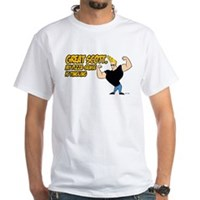 Great Scott White T-Shirt