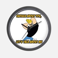 Enough About You Wall Clock