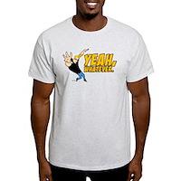Johnny Bravo Yeah Whatever Light T-Shirt