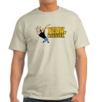 Johnny Bravo Yeah Whatever Light T-Shirt