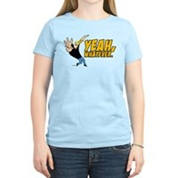 Johnny Bravo Yeah Whatever Women's Light T-Shirt